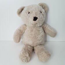 """Vintage Alresford Crafts Ltd Plush Tan Teddy Bear Made in England 17"""""""