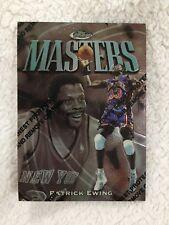 "PATRICK EWING TOPPS FINEST ""MASTERS"" 1997 NEW YORK KNICKS BASKETBALL CARD"