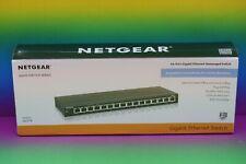 NEU # Netgear GS316 ProSafe 16-Port Gigabit Ethernet Unmanaged Switch Netzwerk