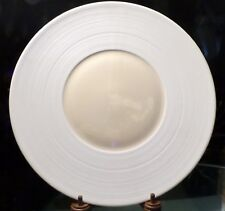 JEAN LOUIS JL COQUET LIMOGES HEMISPHERE WHITE & IVORY PRESENTATION SERVER PLATE