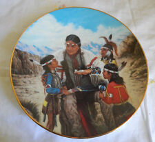 The Storyteller Plate Proud Indian Families