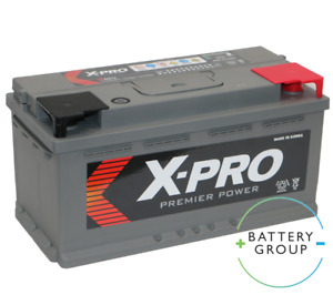 X-Pro 58515 12V 85ah 720CCA Starter battery UK 017