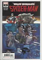 MILES MORALES SPIDER-MAN #3 (2nd PRINT) GARRON VARIANT Marvel 2019 NM- NM