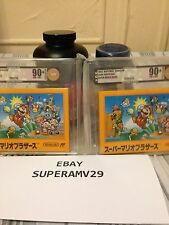 Super Mario Bros. FAMICOM JAPAN RELEASE 1985  VGA 90+ ARCHIVAL CASE