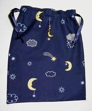 Navy Blue Moons, Shooting Stars and Rain Clouds Tarot, Runes, Crystals Gift Bag