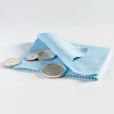 Blue Coin Polishing Cloth for Silver, Gold, & Other Metals