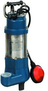 "vortex elettropompa sommersa sommergibile in ghisa acciaio hp 0,5 attacco 1""1/4"