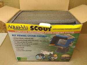 Aqua-Vu Scout underwater camera system with infrared light