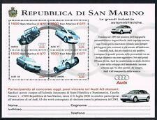 San Marino 1999 blok 26 belangrijke automerken Audi  MNH cat waarde € 7