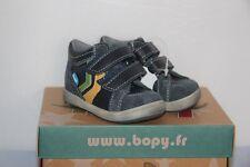 BOPY -  Zitovel - Chassures bébé Garçon -  Cuir Marine -  T 23 neuf