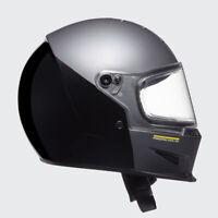 Bell Husqvarna Eliminator Matt Grey Gloss Black Motorcycle Crash Helmet New