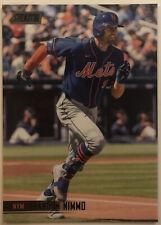 2021 Topps Stadium Club Brandon Nimmo Black Foil Parallel 246 New York Mets Mint
