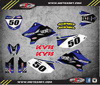 Yamaha TTR 50 - 2006 - 2016 Full Custom Graphic Kit DIGGER STYLE stickers