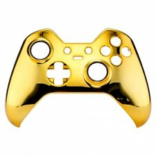 """Xbox One Elite Custom Controller Front Shell Replacement """"Chrome Gold"""""""