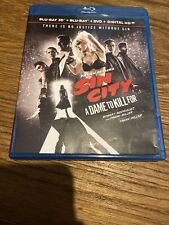 Sin City - A Dame To Kill For 3D Blu-ray & Blu-ray / Dvd Combo 2014