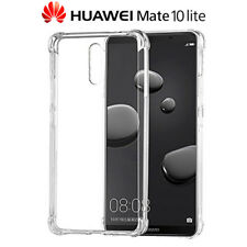 Funda Gel TPU Transparente Antigolpes para Huawei Mate 10 Lite
