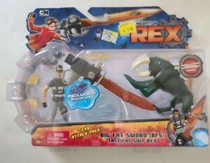 Generator Rex Action Figure Big Fat Sword EVO PACK Nanite Goo Cartoon Network