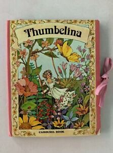 Vintage Thumbelina Carousel Pop-Up Book - Intervisual Communications