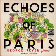 disco 45 GIRI George FEYER ECHOES OF PARIS