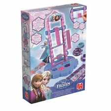 Jumbo Disney Frozen My Super Weaving Loom Machine Ages 5+ Toy Anna Elsa Doll Fun