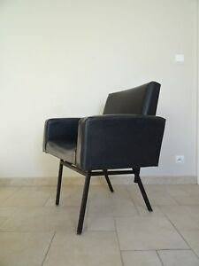 fauteuil ancien ROBERT WOLNER club chair CHARROY GUARICHE MONPOIX PAULIN BUROV