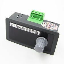 Signal Source DC 24V 0-20mA Signal Generator With Polarity Schutz