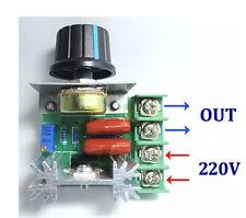 AC 50V-220V 2000W Adjustable Voltage Regulator PWM Motor Speed Control 25A AU