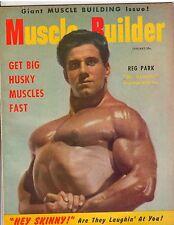 Muscle Builder Bodybuilding Fitness Magazine/Reg Park NABBA Mr Universe 1-54