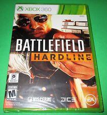 Battlefield Hardline Microsoft Xbox 360 *Factory Sealed! *Free Shipping!