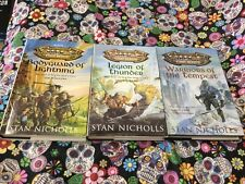 Orcs First Blood Trilogy Books 1 ,2 And 3 By Stan Nicholls 1999 Hardback