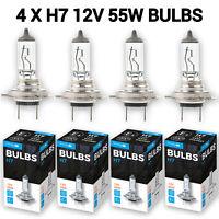 4 X H7 499 477 12V 55W Car Headlight Headlamp Dipped Fog Bulbs 2 Pins PX26d