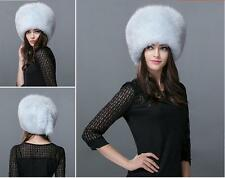 full fox fur hat  Winter Women fox fur hat New Hat Cap Headgear Beanie