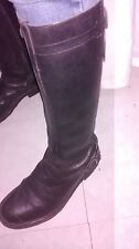 Bottes noires cuir REPLAY