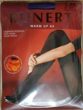 KUNERT Strumpfhose  Gr. II 40-42 Warm up 60.DEEP-PURPLE.  NEU.