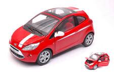 Ford Ka 2008 Red / White 1:24 Model MOTORMAX