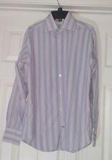 Banana Republic Multi Color Striped Long Sleeve Button Up Shirt S 14-14 1/2(A21)