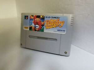SUPER RUGBY SHVC-13 FOR SUPER FAMICOM CART ONLY NTSC JAPAN N20