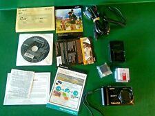 SONY CYBER-SHOT DSC-HX5V 10.2MP Digital Camera-Black with battery
