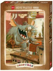 (HY29865) - Heye Puzzles - Zozoville,1000 Pc - Laundry Day