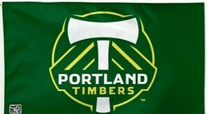 PORTLAND TIMBERS FLAG BANNER 3'X5': Fast Free Shipping