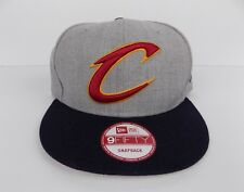 Cleveland Cavaliers Gray Snapback Adjustable Hat New Era