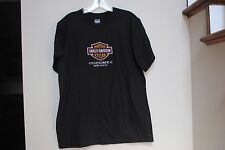 Adult size M/L Motor Cycles Harley-Davidson Embroidered Cozumel Mexico Black Tee