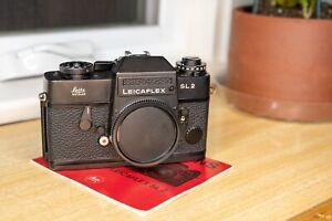 Leica Leicaflex SL2 Black SLR 35mm Film Camera, Working meter