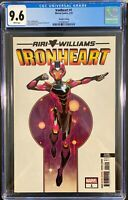 Ironheart 1 2nd Print Variant, CGC 9.6 Riri Williams, Rare Hard To Find, 2018