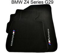 BMW Z4 Series G29 Floor Mats With M Performance Emblem Black Tailored Carpets