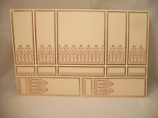 World & Model Relief 34803 Wallpaper Panel dollhouse 1p  1/12 scale