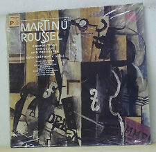 Sasa Vectomov MARTINU/ROUSSELL - Supraphon 1 10 5084 SEALED