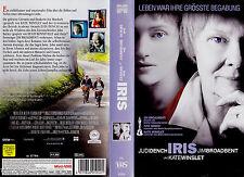 "VHS - "" IRIS "" (2001) - Kate Winslet - Hugh Bonneville - Judi Dench"
