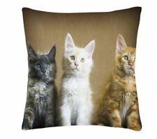 cute cat kitten  PHOTO DESIGN CUSHION COVER  45x45 CM