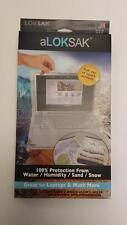 2 Aloksak 16x24 Waterproof Sandproof Airtight Pouch Bags LOKSAK
